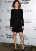 Laetitia Casta attends L'uomo Fedele photocall in Milan, Italy