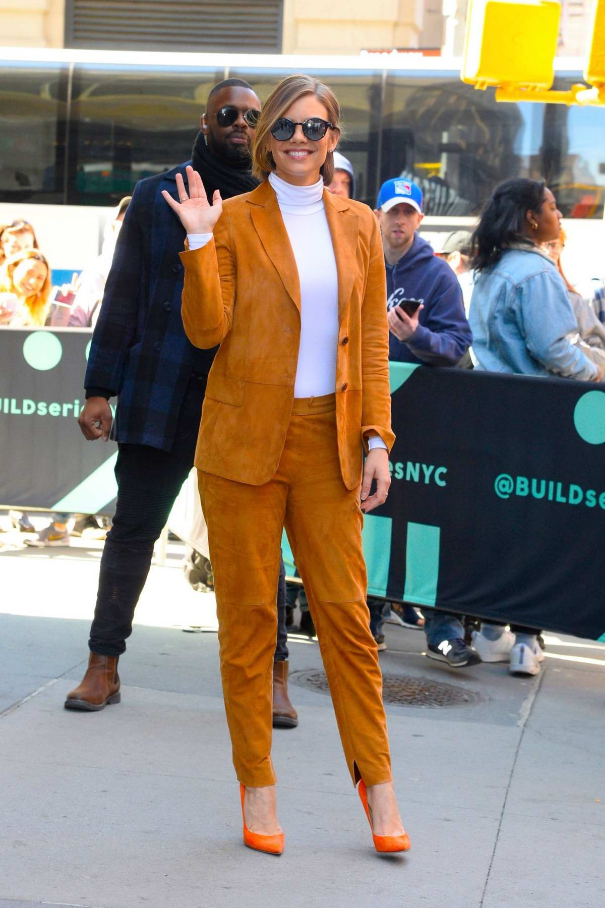 Lauren Cohan visits AOL Build Studio to talk about 'Whiskey Cavalier' in New York City