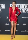 Lena Gercke attends the 2019 About You Awards at Bavaria Studios in Munich, Germany