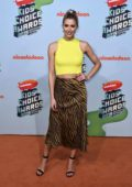 Lena Gercke attends the Nickelodeon Kids' Choice Awards 2019 in Rust, Germany
