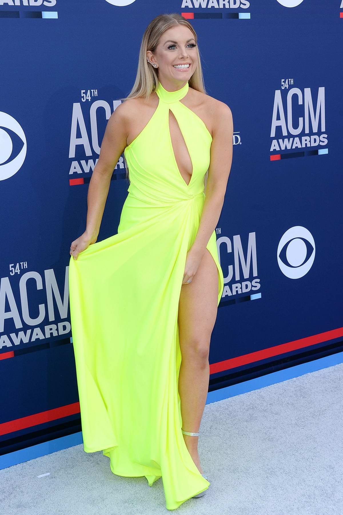 Lindsay Ell attends the 54th Academy of Country Music Awards (ACM 2019) at MGM Grand in Las Vegas, Nevada