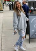 Madison Beer shows off her new blonde streaks while out in West Hollywood, Los Angeles