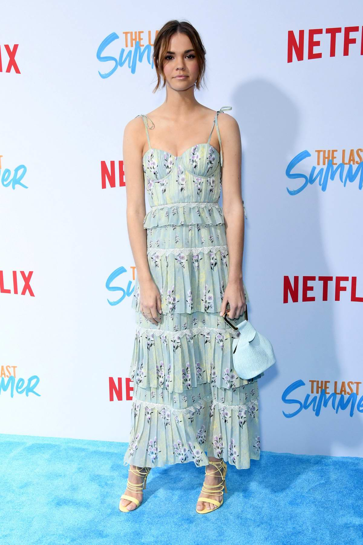Maia Mitchell attends the screening of Netflix's 'The Last Summer' at TCL Chinese Theatre in Hollywood, California