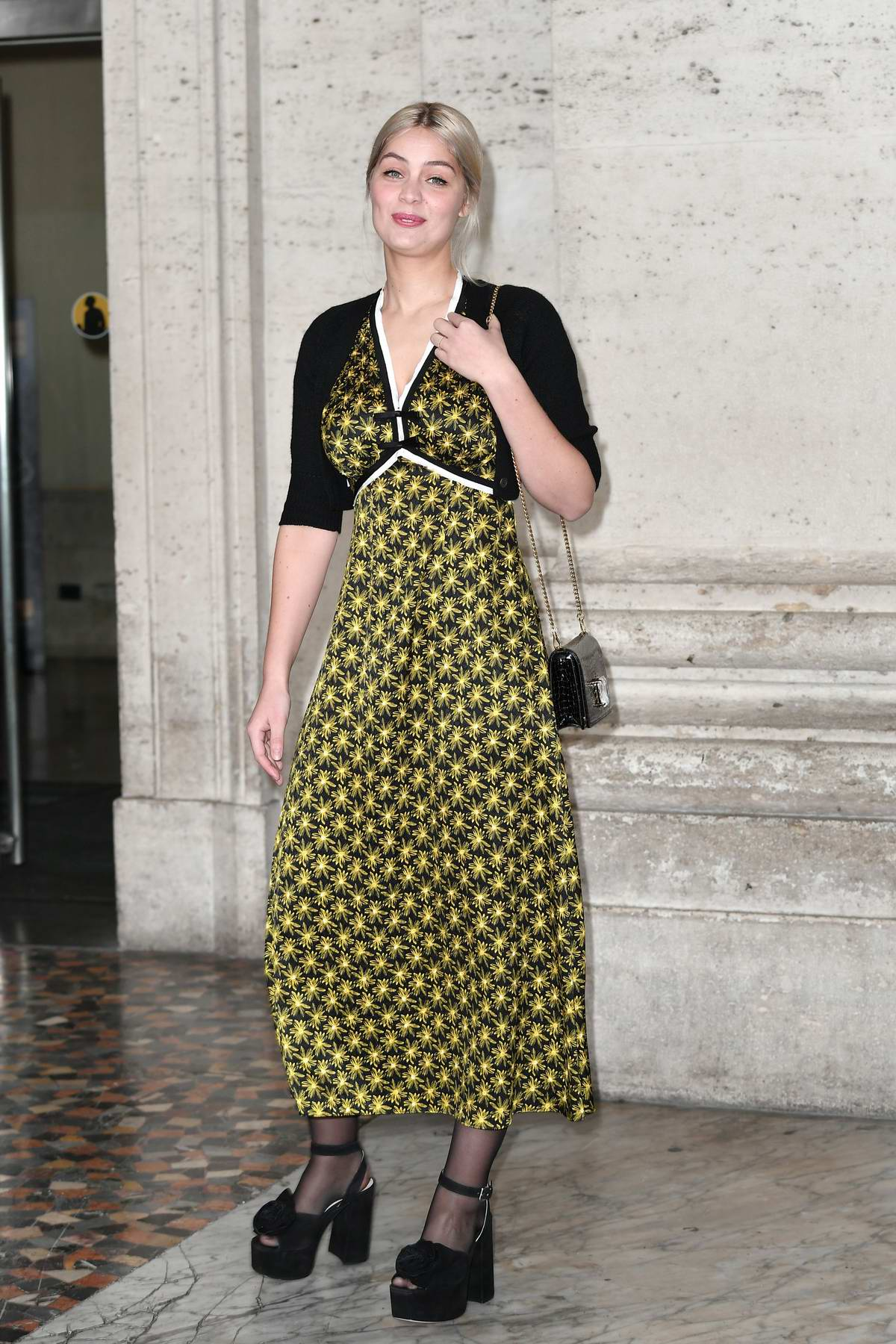 Marie-Ange Casta attends 'The Ruthless' film photocall in Rome, Italy