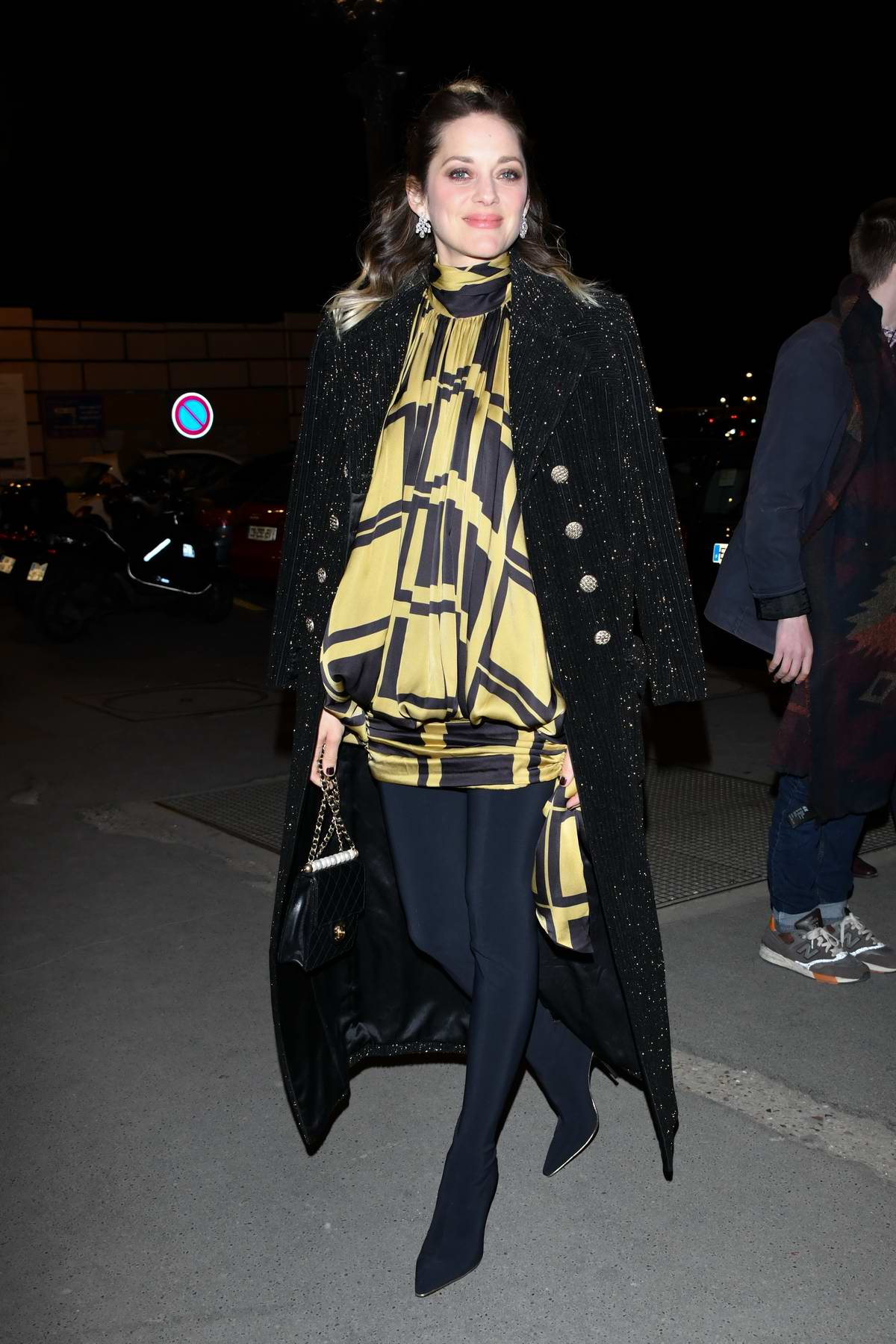 Marion Cotillard attends the Diner du Cinéma Madame Figaro at L'Automobile Club de France in Paris, France