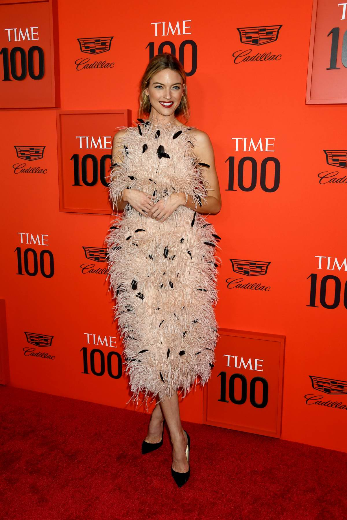 Martha Hunt attends the TIME 100 Gala 2019 at Jazz at Lincoln Center in New York City