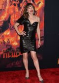 Milla Jovovich attends the premiere of 'Hellboy' at AMC Lincoln Square Theater in New York City