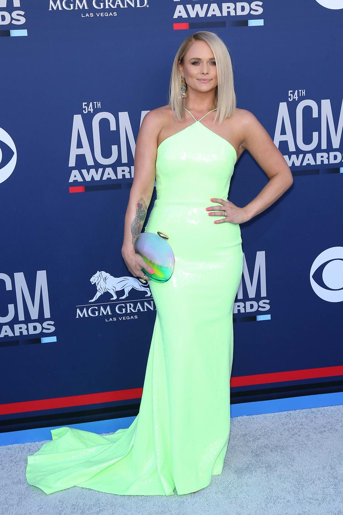 Miranda Lambert attends the 54th Academy of Country Music Awards (ACM 2019) at MGM Grand in Las Vegas, Nevada