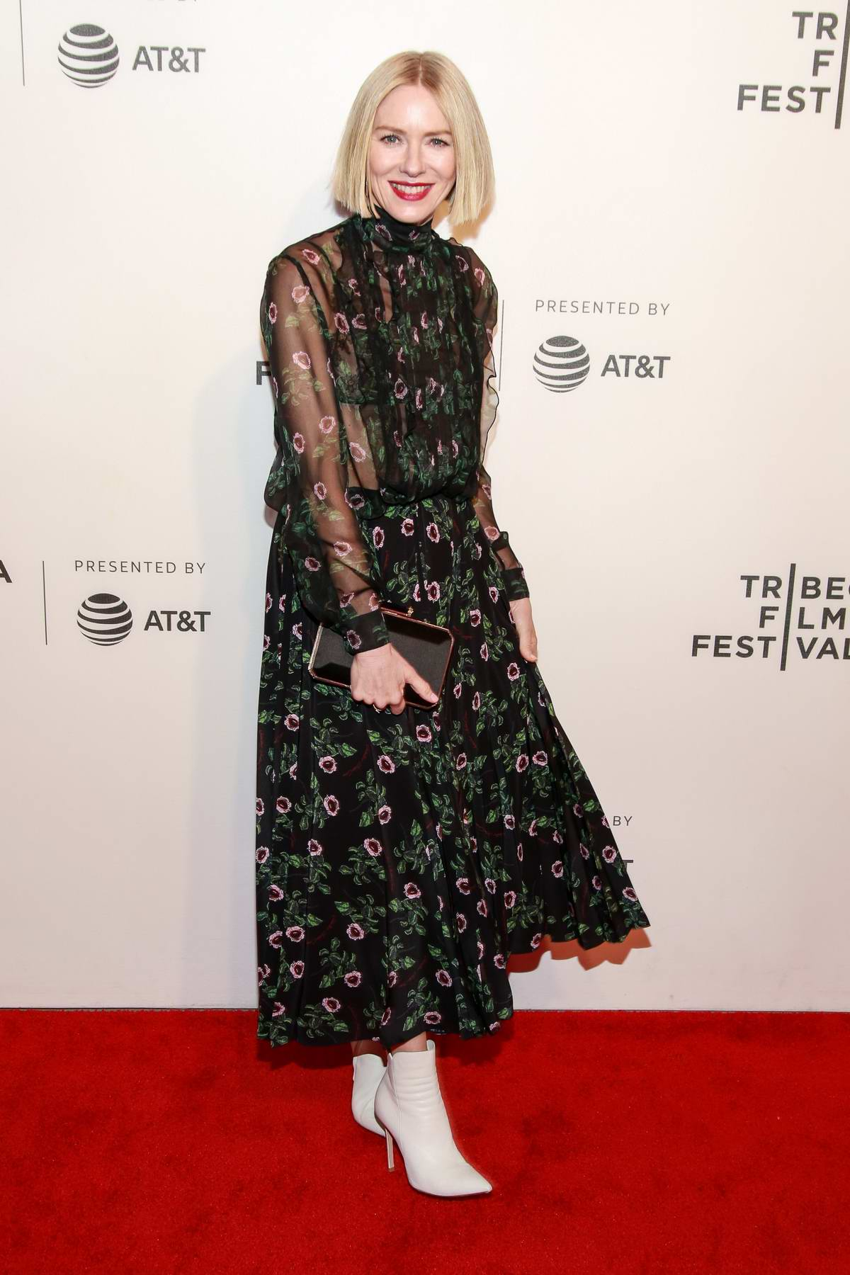Naomi Watts attends 'Luce' premiere during 2019 Tribeca Film Festival in New York City