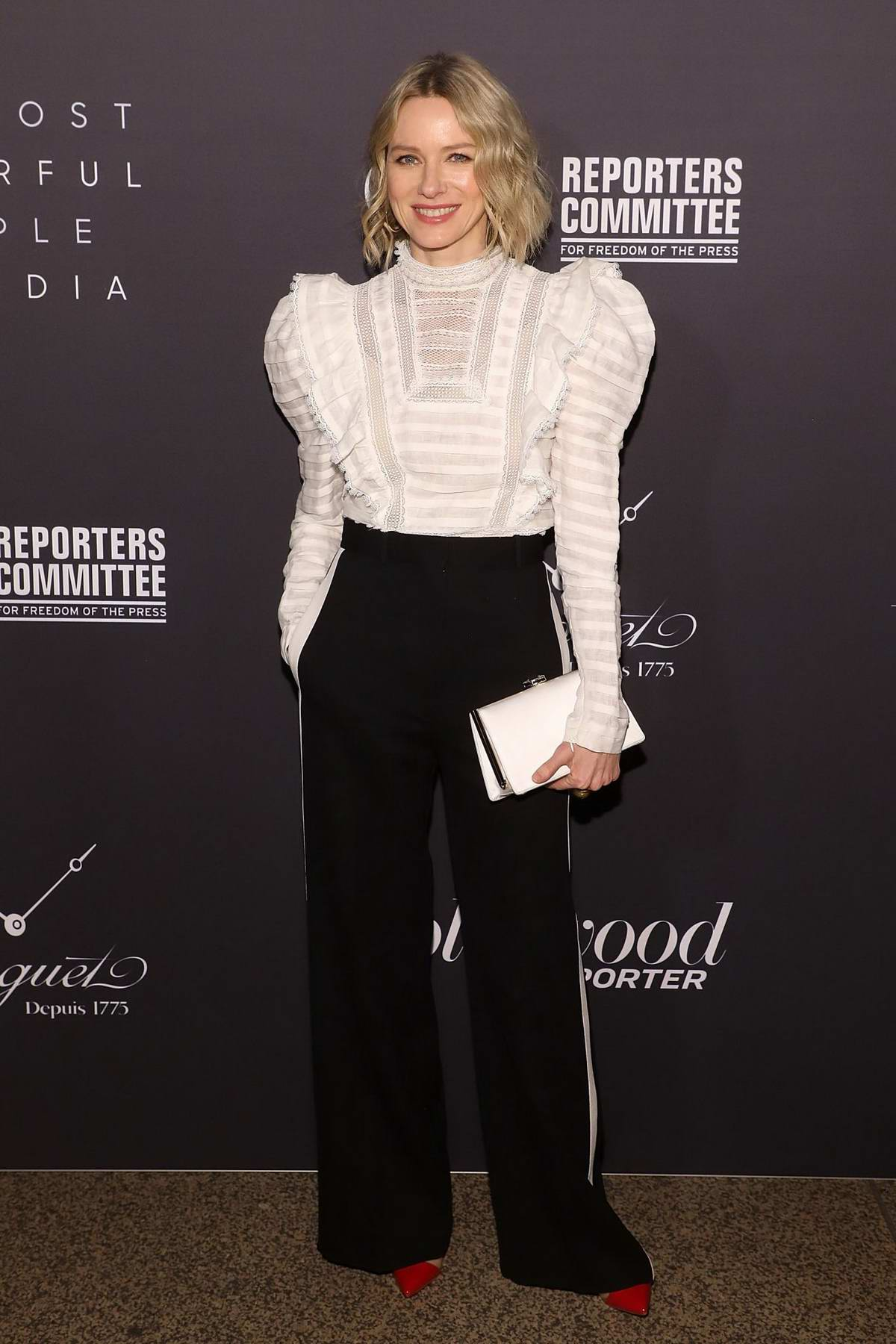 Naomi Watts attends the Hollywood Reporter's 9th Annual Most Powerful People In Media in New York City