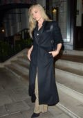 Natalie Dormer looks chic during a dinner outing at Natalie Dormer at 34 Mayfair in London, UK