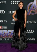 Natalie Portman attends the World Premiere of 'Avengers: Endgame' at the LA Convention Center in Los Angeles