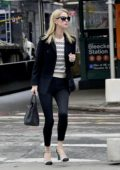 Nicky Hilton dressed for business as she heads to a meeting in New York City