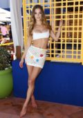 Nina Agdal attends the debut weekend of JEMAA - The NoMad Pool Party at NoMad Hotel in Las Vegas, Nevada