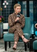 Olivia Holt discusses Marvel's 'Cloak and Dagger' with the AOL Build Series at Build Studio in New York City