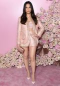 Olivia Munn attends the Patrick Ta Beauty Collection Launch at Goya Studios in Los Angeles