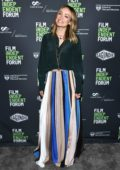 Olivia Wilde attends a Q&A for her new movie 'Booksmart' at the Film Independent Forum, Day 1 in Los Angeles