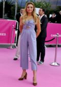 Peyton Roi List at the Pink Carpet during the 2nd Canneseries: International Series Festival - Day 5 in Cannes, France