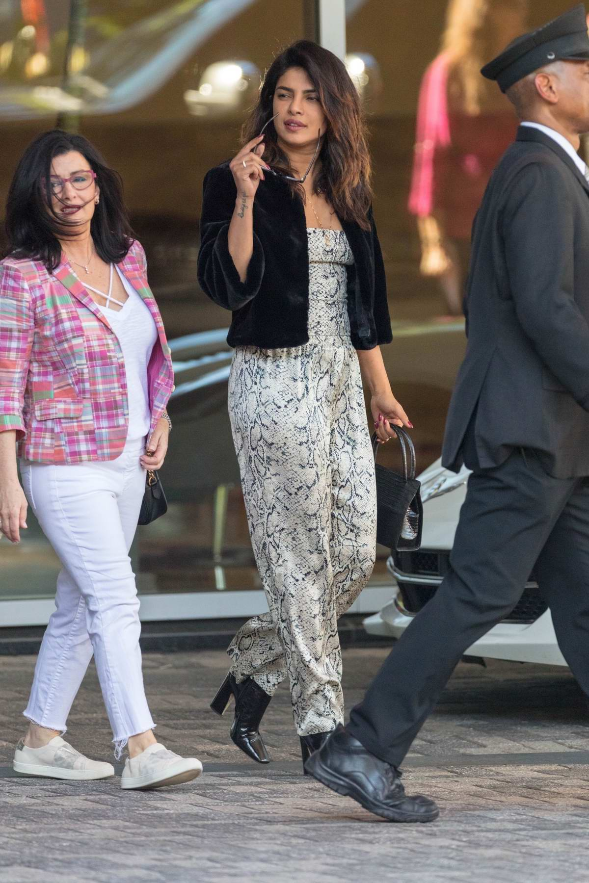 Priyanka Chopra heads out for dinner with her mother-in-law in Atlanta