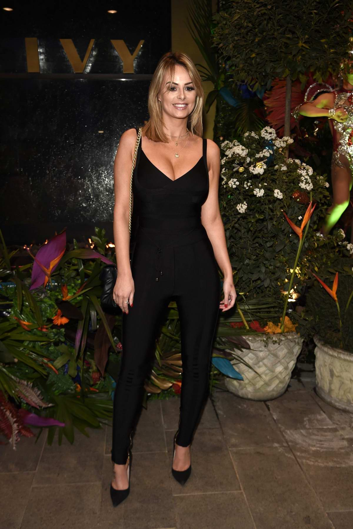 Rhian Sugden attends the Ivy Manchester Roof Top Re-Launch in Manchester, UK