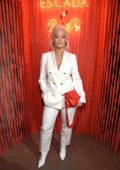 Rita Ora attends the ESCADA Heartbag by Rita Ora launch in New York City