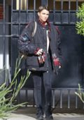 Ruby Rose is seen fresh-faced as she heads to a beauty appointment in Hollywood, California