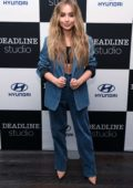 Sabrina Carpenter visits Deadline Studio at Tribeca Film Festival, Day 2 in New York City