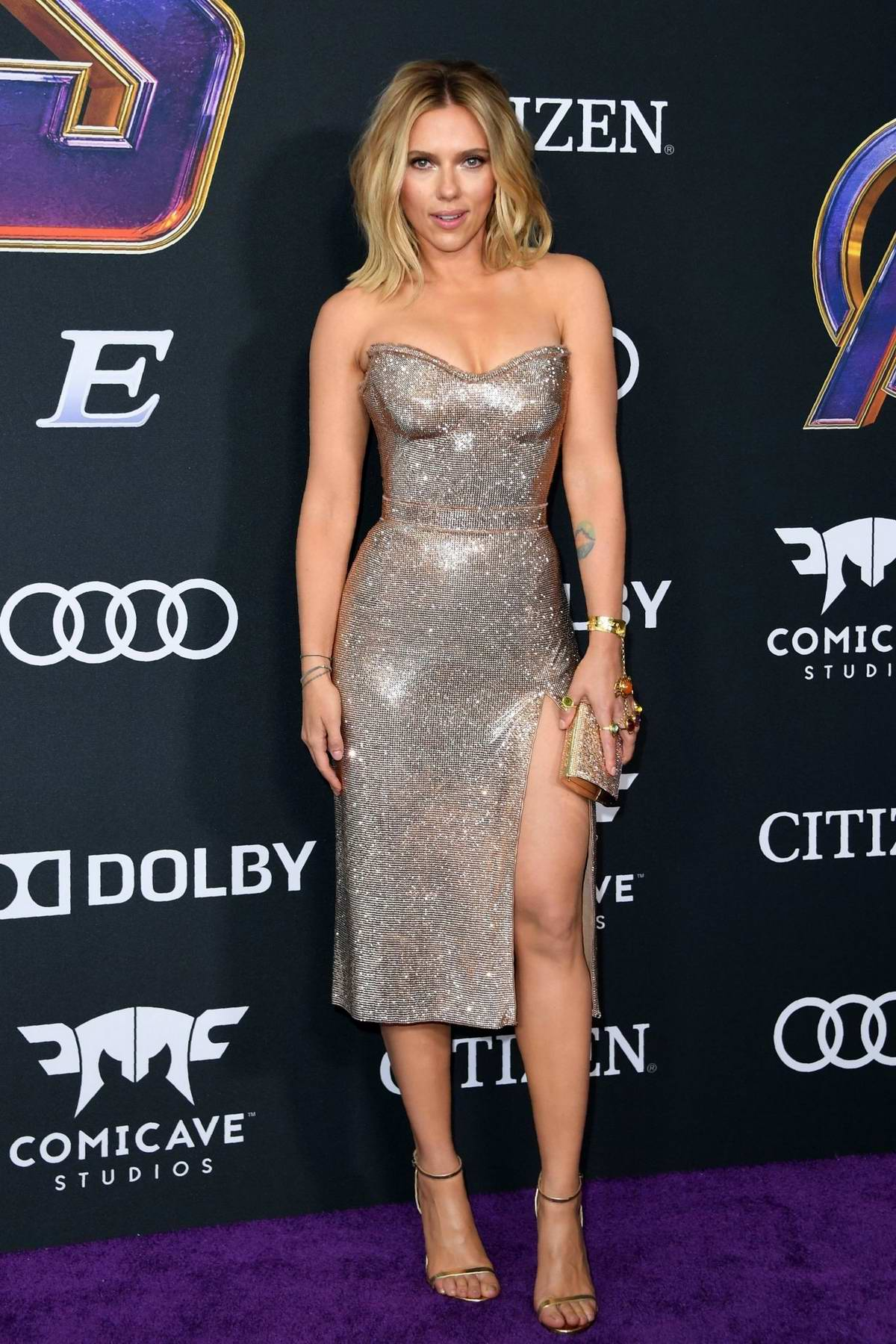 Scarlett Johansson Attends The World Premiere Of Avengers Endgame At The La Convention Center In Los