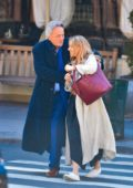 Sienna Miller has an adorable moment with her father in New York City