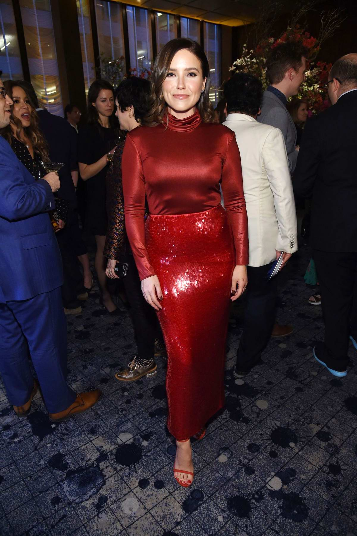 Sophia Bush attends the Hollywood Reporter's 9th Annual Most Powerful People In Media in New York City