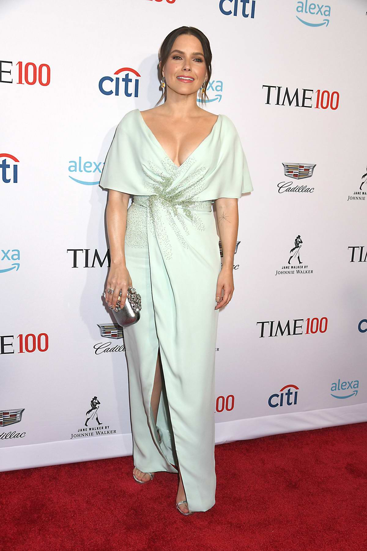 Sophia Bush attends the TIME 100 Gala 2019 at Jazz at Lincoln Center in New York City