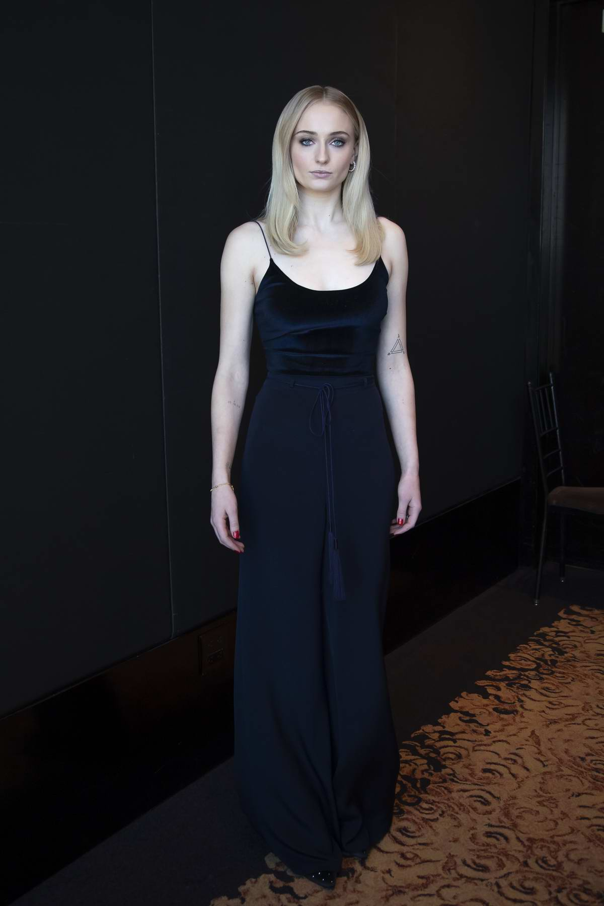 Sophie Turner attends Game Of Thrones Press Conference and Photocall at the Mandarin Oriental Hotel, New York City