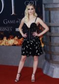Sophie Turner attends the Season 8 premiere of 'Game of Thrones' at Radio City Music Hall in New York City