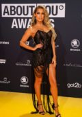 Sylvie Meis attends the 2019 About You Awards at Bavaria Studios in Munich, Germany