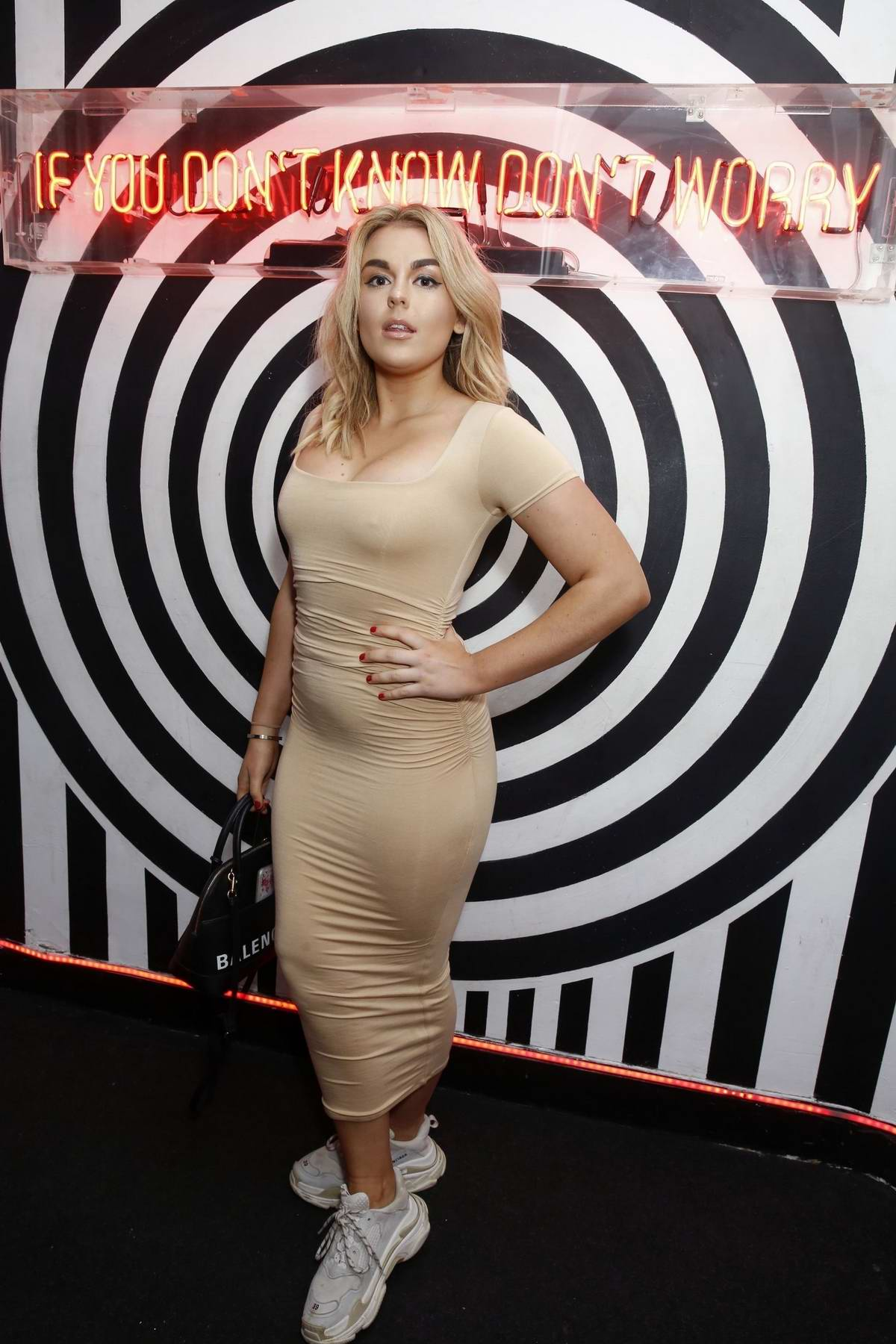 Tallia Storm at the the Kiss and Nails launch at Cirque Le Soir in London, UK