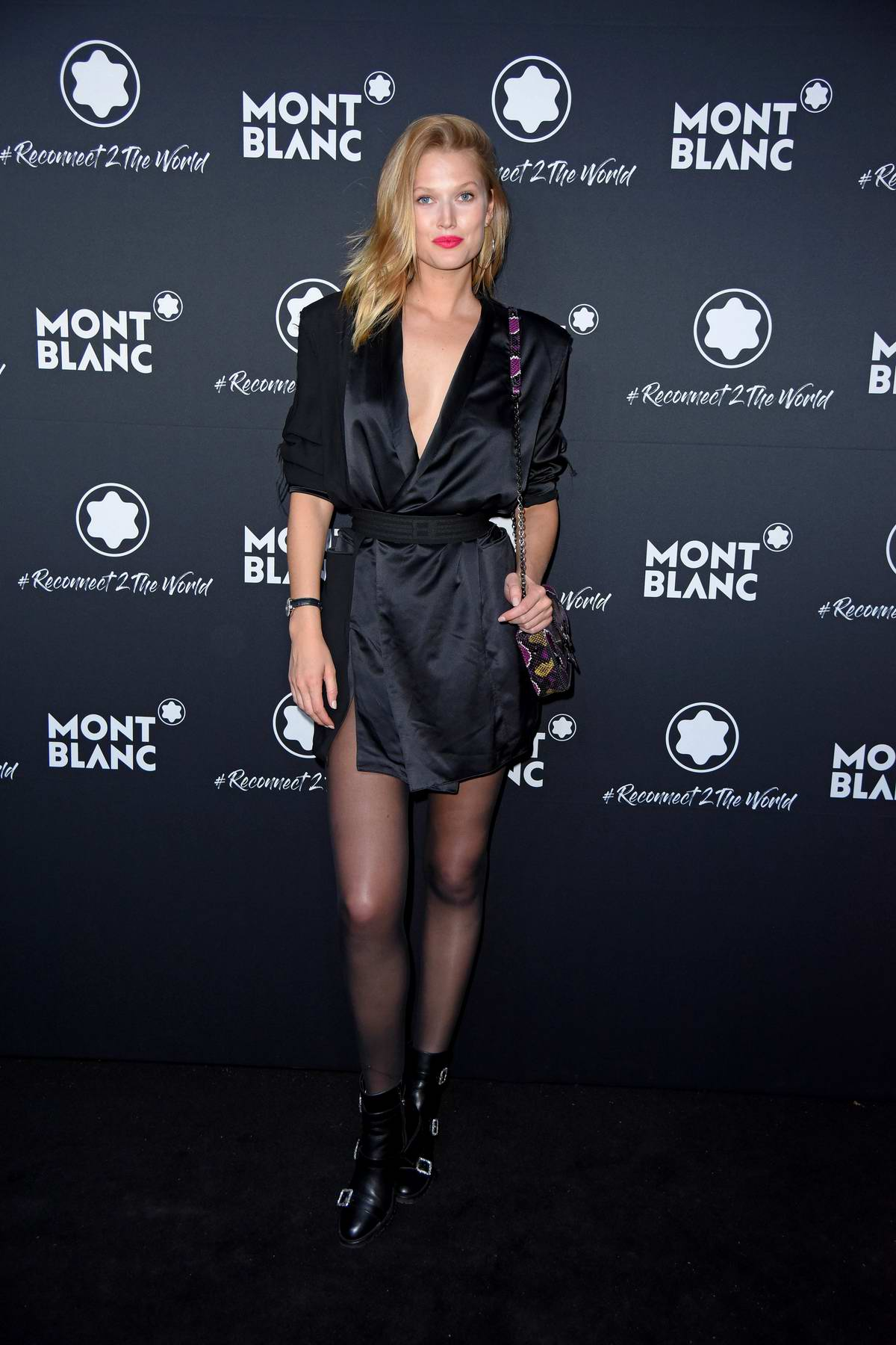 Toni Garrn attends Montblanc #Reconnect 2 The World Party at Metropol-Theater in Berlin-Mitte, Berlin, Germany