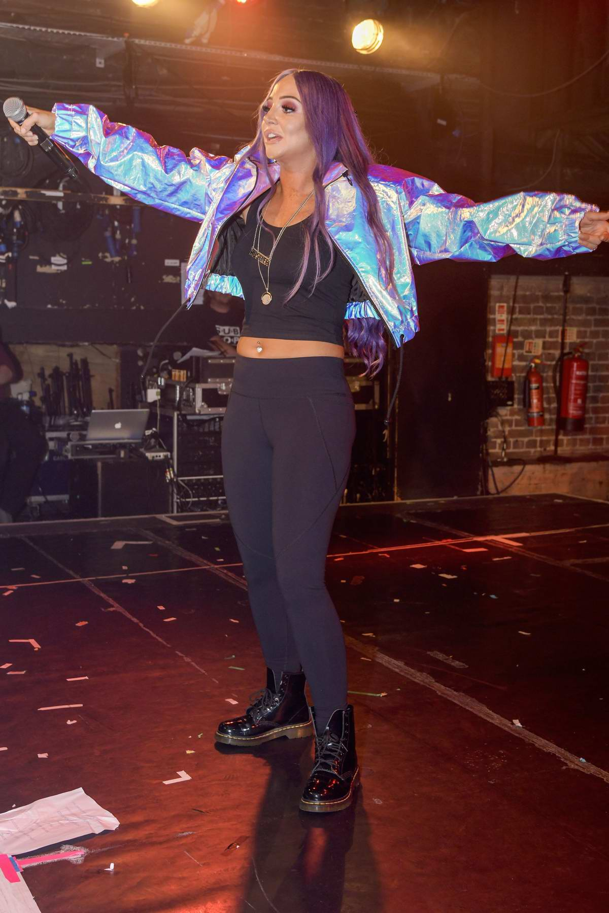 Tulisa Contostavlos launches her new single 'Daddy' at G-A-Y in London, UK