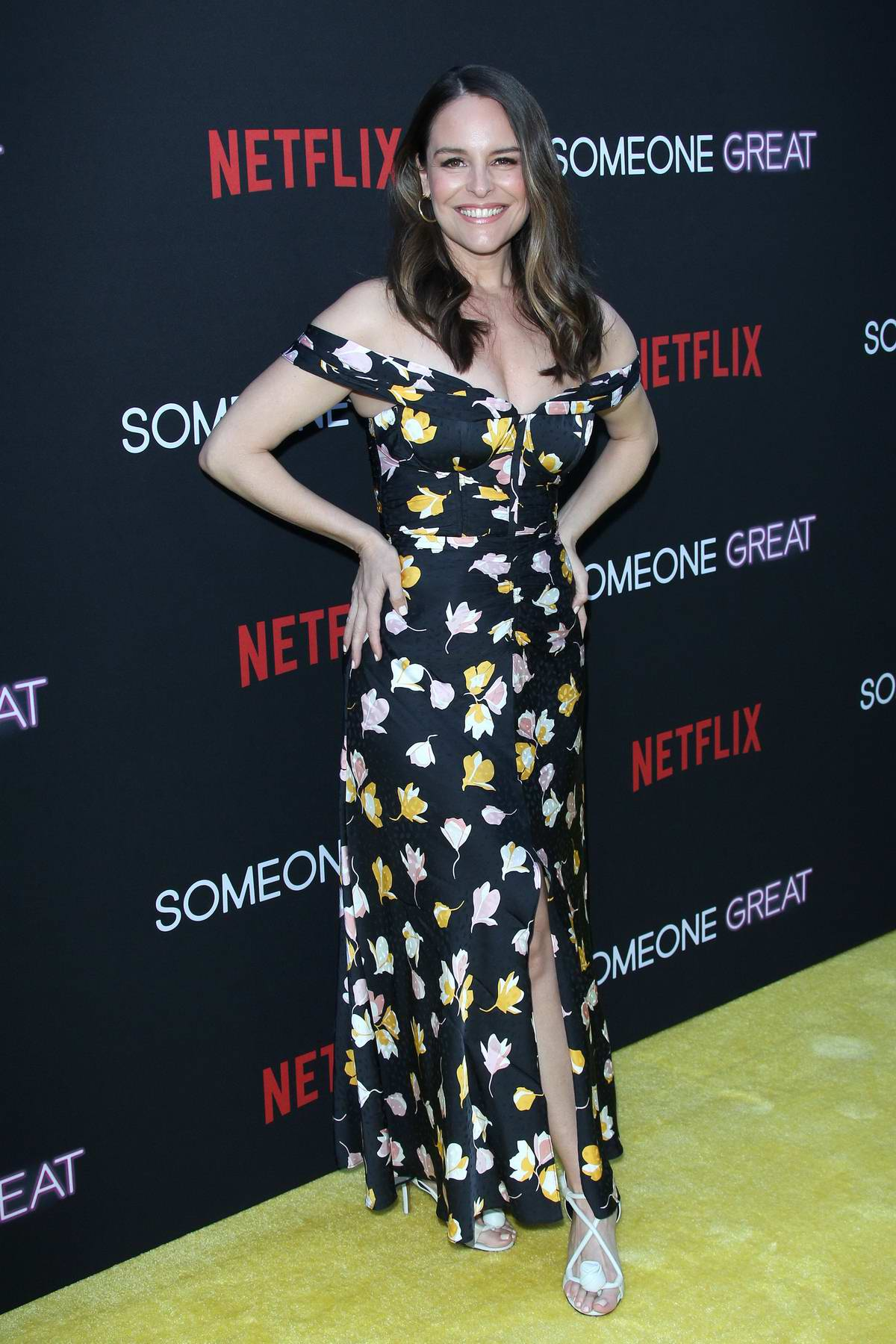 Yara Martinez attends 'Someone Great' premiere at ArcLight Cinemas in Los Angeles