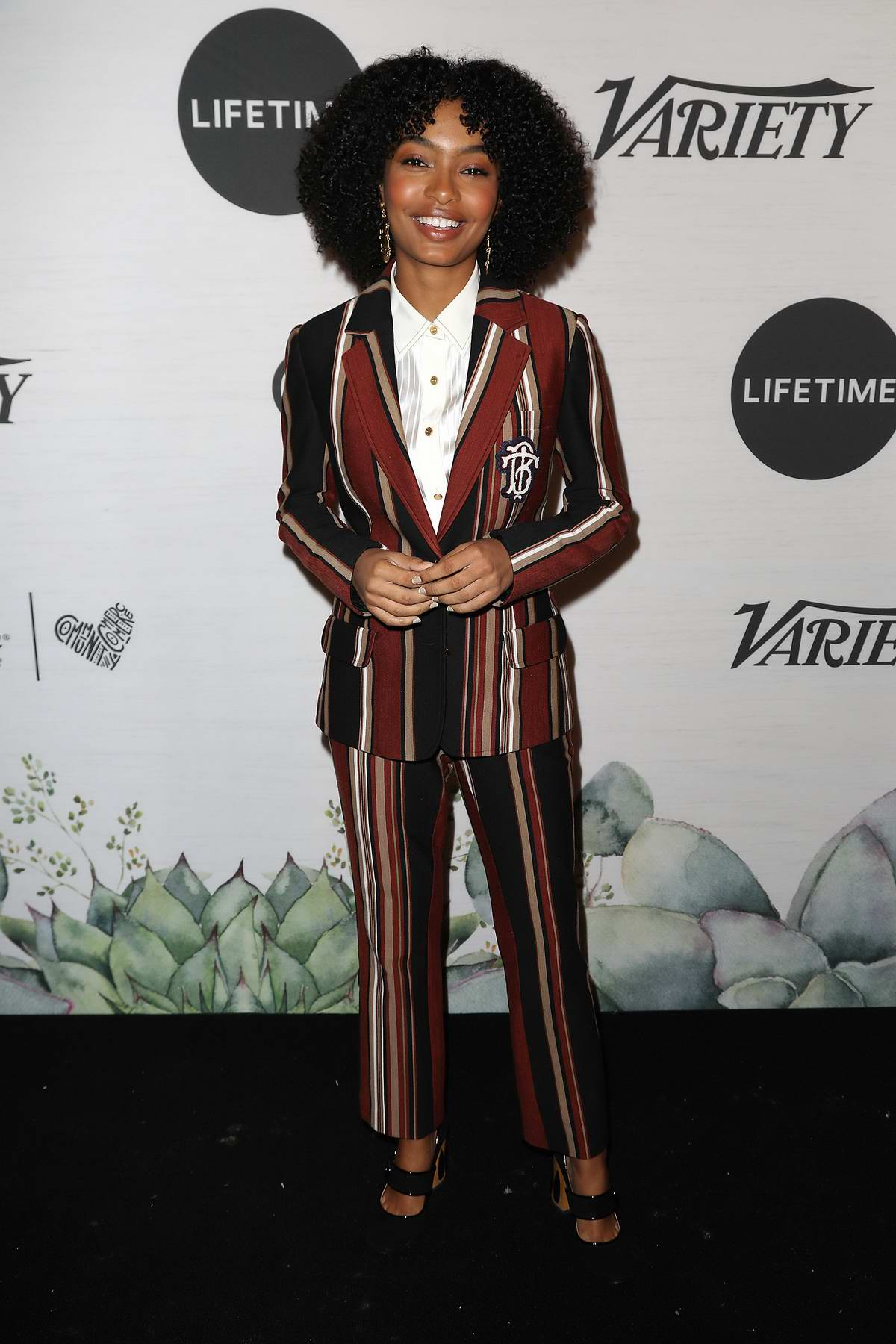 Yara Shahidi attends the 2019 Variety's Power of Women Presented by Lifetime in New York City