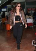 Adele Exarchopoulos arrives at Nice airport for the 72nd annual Cannes Film Festival, France