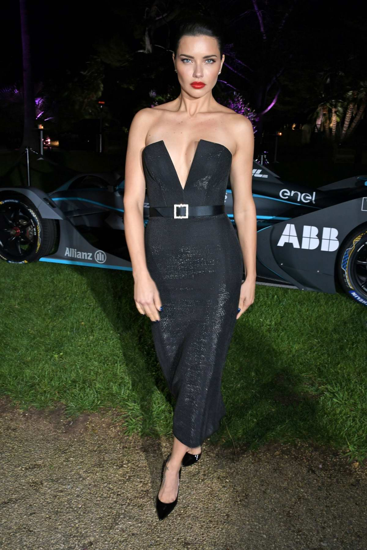 Adriana Lima attends a private dinner hosted by Alejandro Agag during the 72nd annual Cannes Film Festival in Cannes, France