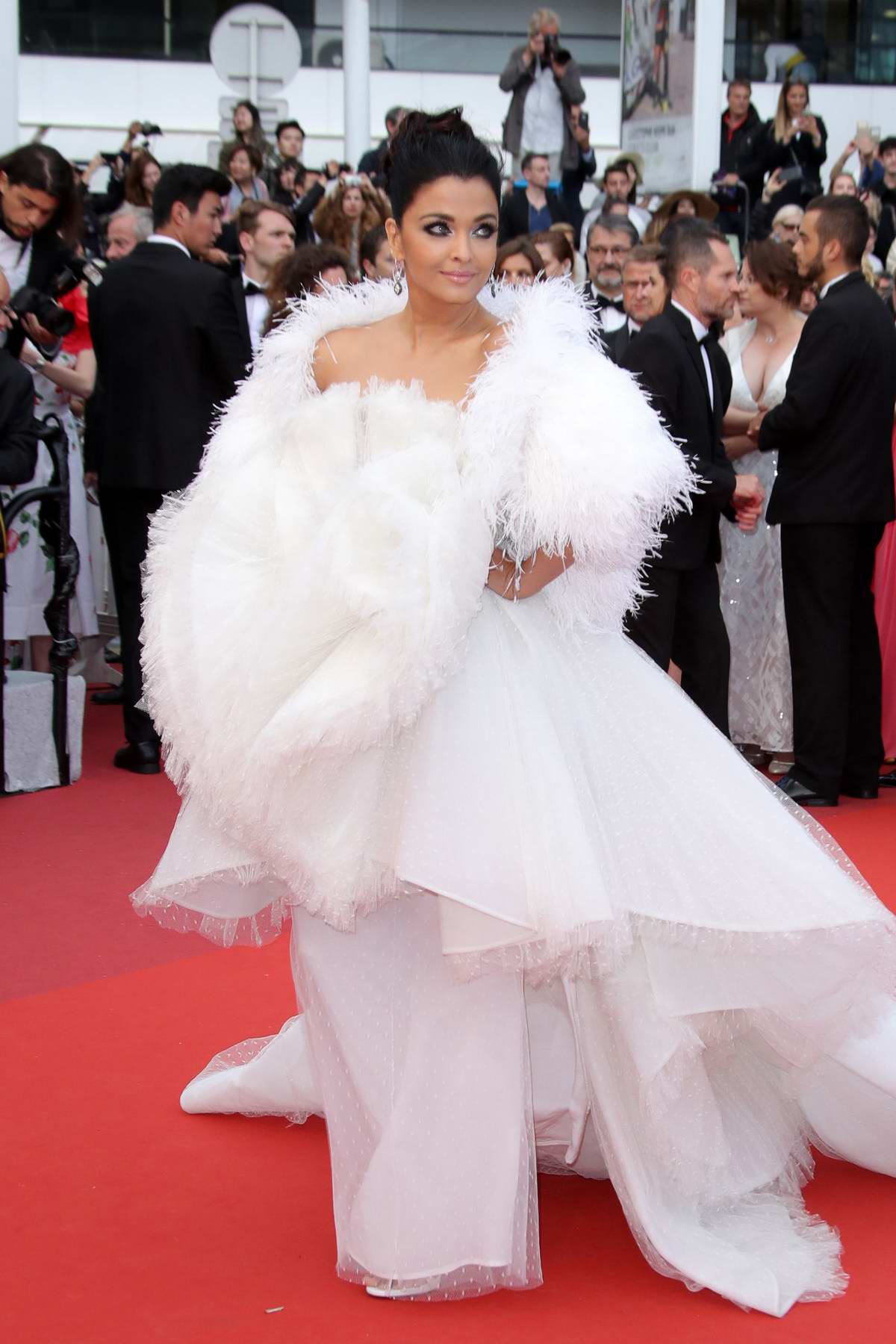 Aishwarya Rai Bachchan attends the screening of 'La Belle Epoque' during the 72nd annual Cannes Film Festival in Cannes, France