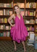 Alice Eve attends the launch of new book 'Lomita For Ever' by Trevor Eve at Hatchards in London, UK