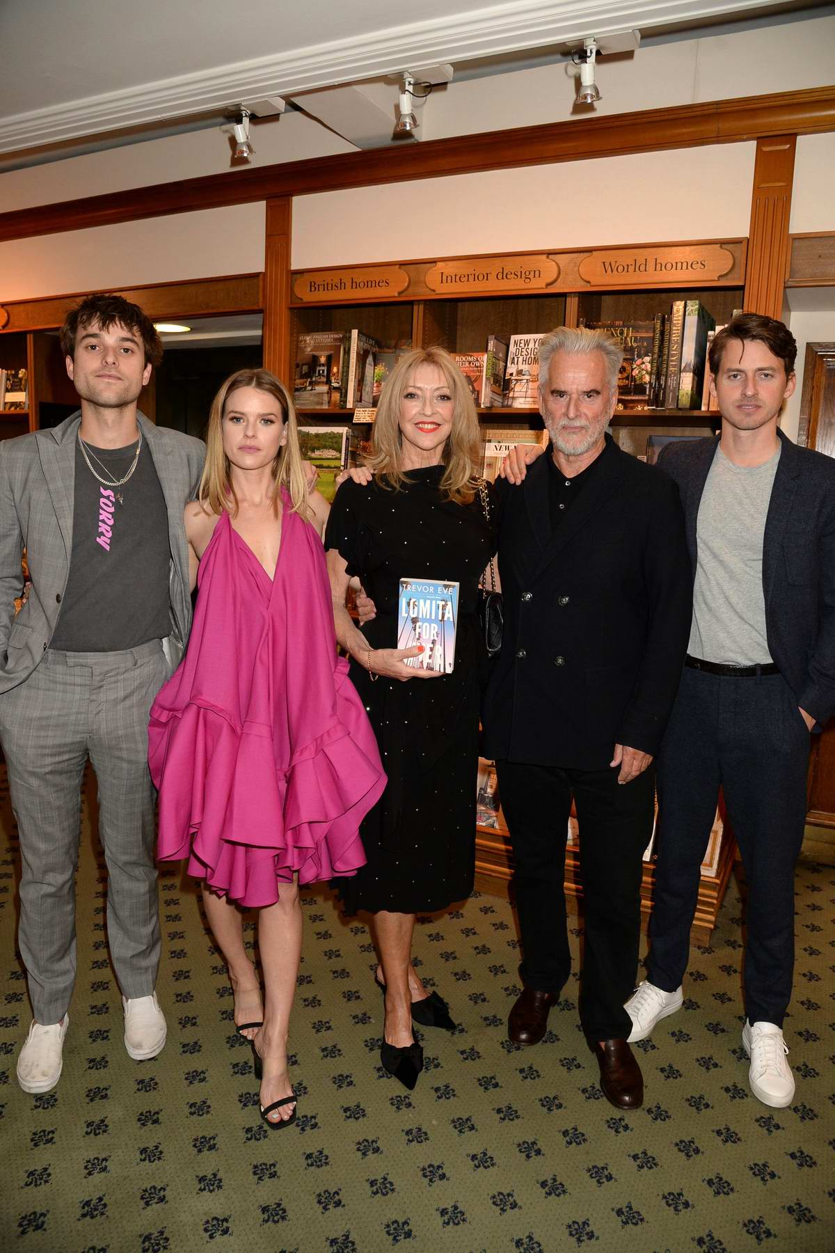 alice eve attends the launch of new book 'lomita for ever