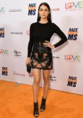 Allison Paige attends the 26th Annual Race to Erase MS GALA held at the Beverly Hilton Hotel in Beverly Hills, Los Angeles
