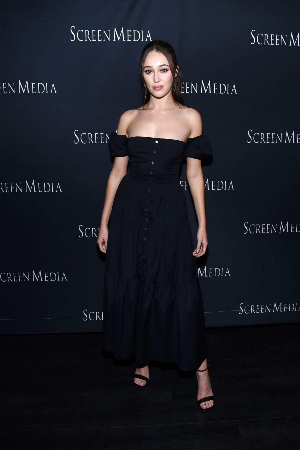 Alycia Debnam-Carey attends the special screening of 'A Violent Separation' in Santa Monica, California