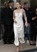 Amber Heard is all smiles as she arrives at her hotel during 72nd Cannes Film Festival in Cannes, France