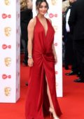 Amy Jackson attends the 2019 British Academy Television Awards at Royal Festival Hall in London, UK