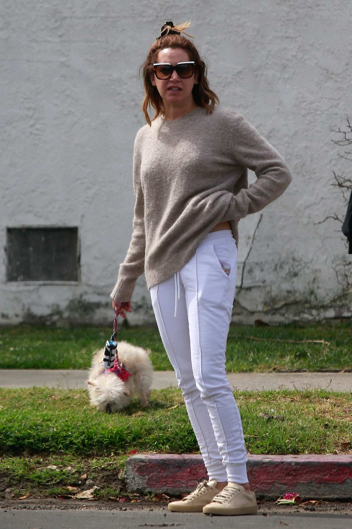 Ashley Tisdale and Christopher French step out for breakfast in Los Angeles
