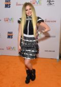 Avril Lavigne attends the 26th Annual Race to Erase MS GALA held at the Beverly Hilton Hotel in Beverly Hills, Los Angeles